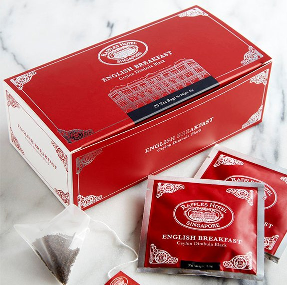 Raffles English Breakfast Tea Bag