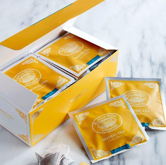 Raffles Mango Tea Bag