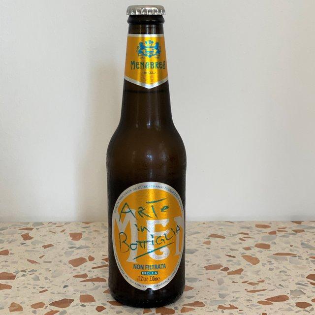 Menabrea Unfiltered Bottled Beer