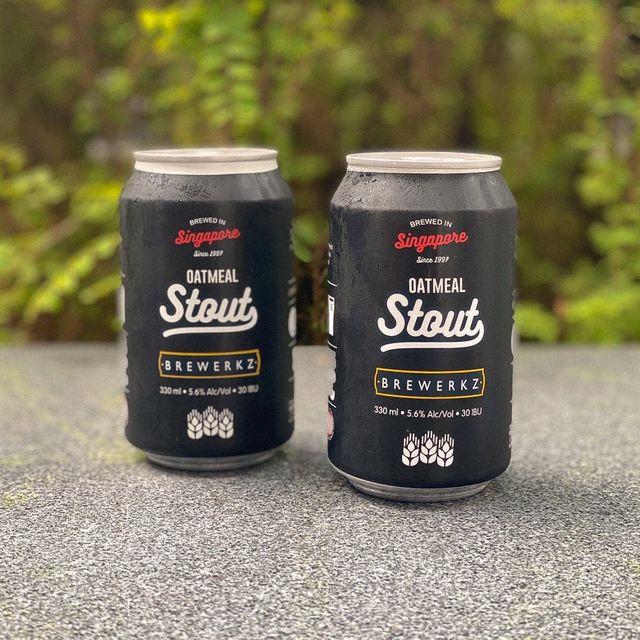 Brewerkz Oatmeal Stout - 4 cans