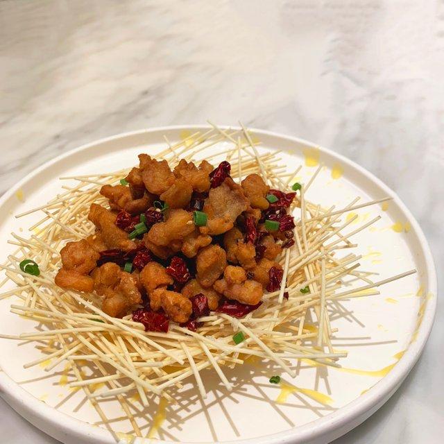 川味辣子雞午餐肉 Stir-fried Sichuan Style Spicy Chicken & Luncheon Meat