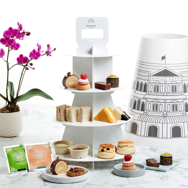 Raffles Afternoon Tea for 2 persons