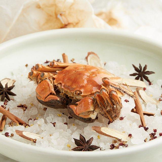 Salt-baked Hairy Crab